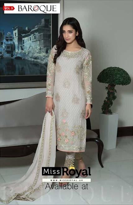 Baroque Charismatic Luxury Chiffon Dress vol3 - 01a
