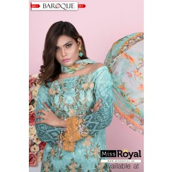 Baroque Beau Ideal Lawn Dress Collection1 - Design7a