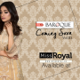 Baroque Ochre Lust Luxury Chiffon Dress vol3 - 03